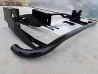 Подножки УАЗ Патриот рестайлинг с креплением к раме с возможностью подъёма Hi Jack