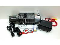 Лебедка электрическая 12V Electric Winch 12000lbs / 5443 кг (блок управления IP66) кев.трос 12mm