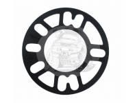 Проставка под литье пластина 5-114,3мм - h4mm (1шт) серая TRV-6