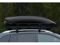 Бокс-багажник на крышу Аэродинамический Черный Turino 1
